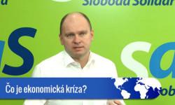 Čo je ekonomická kríza - 60 sek. video